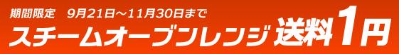 スチームオーブンレンジ 送料1円